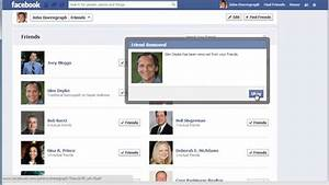 How to Manage Facebook Friends List - YouTube