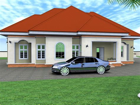 House With 4 Bedrooms by Luxury Master Bedroom 4 Bedroom Bungalow House