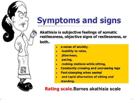 akathisia definition treatment symptoms