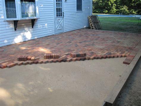 installing brick patio mortar kathrilanim