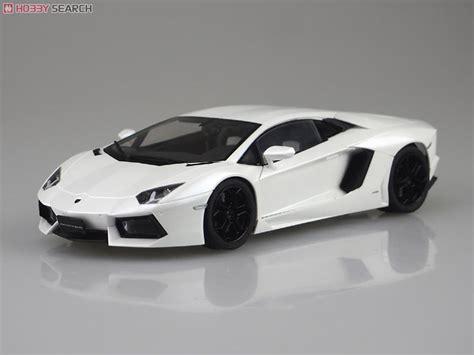 Lamborghini Aventador Lp700-4 (white Pearl) (model Car