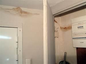 conseils travaux plomberie maison probleme taches d With probleme d humidite mur interieur