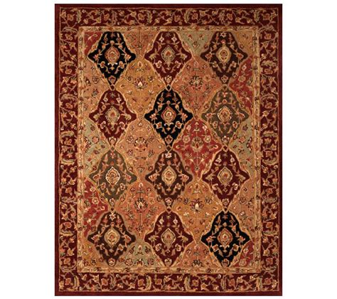royal palace rugs royal palace classic tabriz 7 x9 handmade wool rug qvc