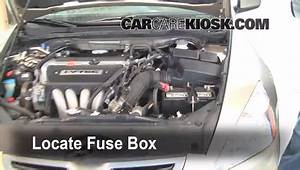 Blown Fuse Check 2003-2007 Honda Accord