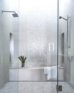 Tile Bathroom Designs Picture Of Sparkling Silver Shower Tiles