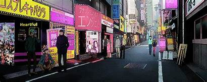 Tokyo Ghoul Places Visit Alley Anime Way