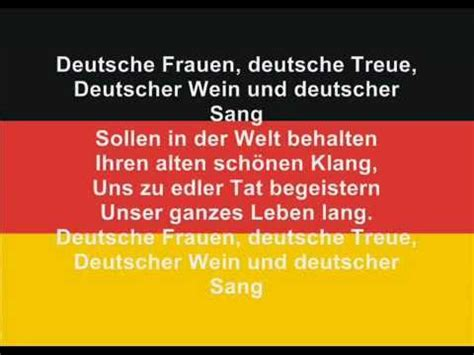 Testo In Tedesco Inno Germania Sottotitoli Anthem Of Germany With