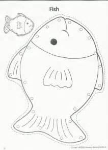 Printable Fish Template Preschool