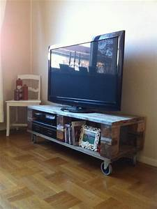 12 diy pallet wood tv stand furniture ideas pallets designs With homemade tv furniture