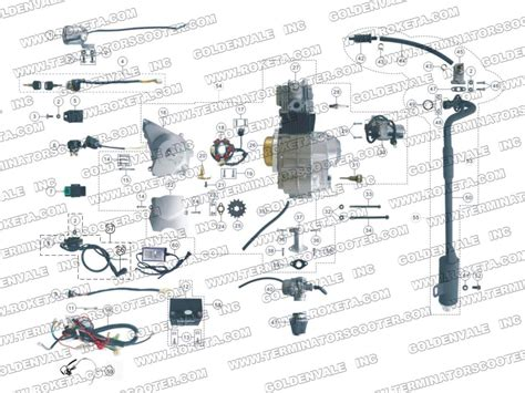 roketa cc water cooled atv wiring diagram
