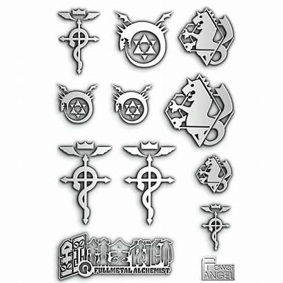 Alchemist Sticker Stickers Metal Anime Fullmetal Phone