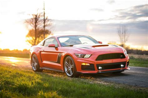 Roush Stage 3 Mustang by Hammering The 2015 Roush Stage 3 Mustang With Active Exhaust