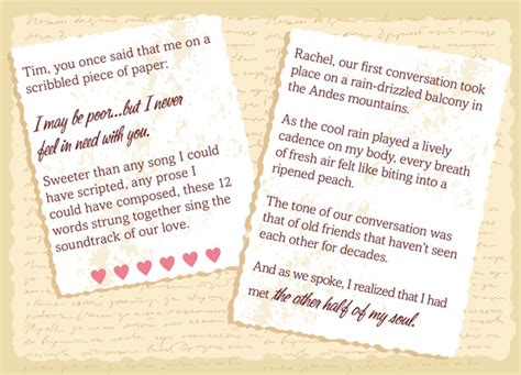doable diy writing   wedding vows