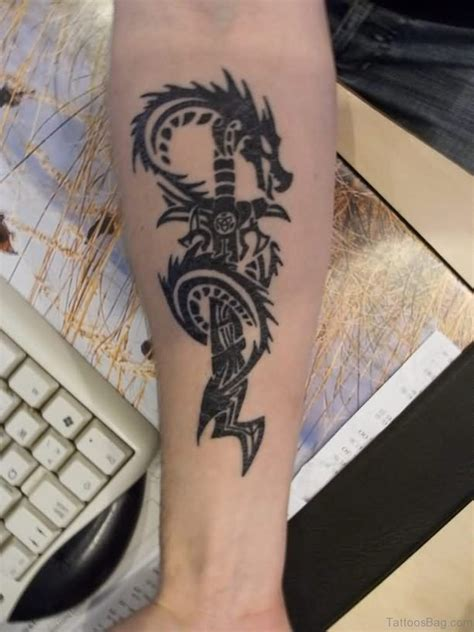 67 Great Dragon Tattoos On Arm