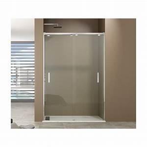 paroi de douche avec porte coulissante paroi de douche With porte de douche coulissante avec spots ip65 salle bain