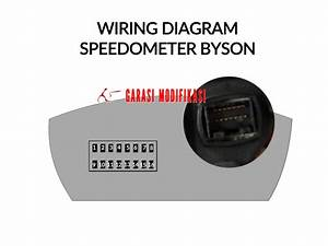 Wiring Diagram Speedometer Yamaha Byson  U2013 Child Blog Garasi Modifikasi