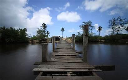 Pulau Jambatan Kerengga Gambar Terengganu Siang Klasik