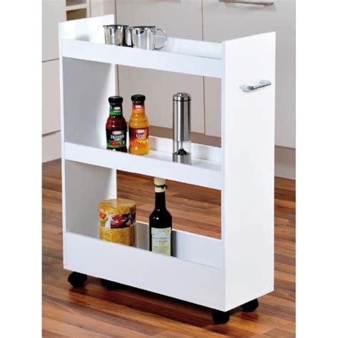 meuble cuisine petit espace meuble de rangement pour cuisine à roulettes renforts en