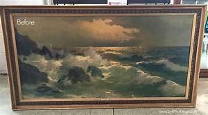 Hometalk 3 Easy Steps for Repurposing Old Canvas Art