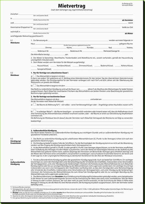 änderung Mietvertrag Vorlage by 16 Vorlage Mietvertrag Wohnung Freyajacklin