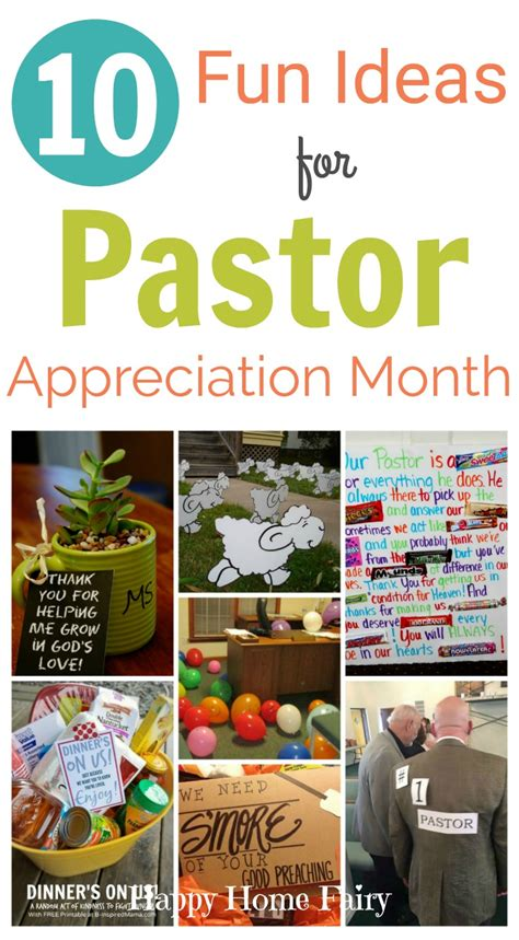 Decorating Ideas For Pastor Appreciation Day by 10 Ideas For Pastor Appreciation Month Happy Home