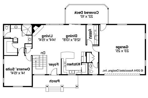 Ranch House Plans  Gatsby 30664  Associated Designs
