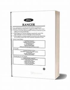 Ford Ranger 1996 Repair Manual