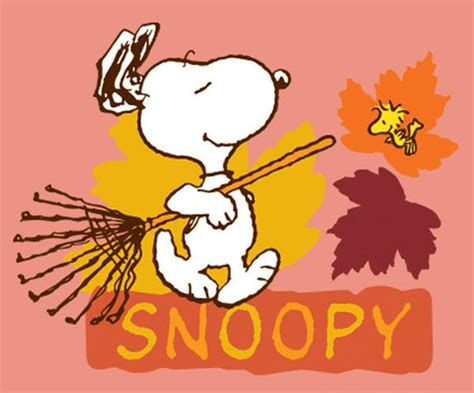 1000+ Images About Snoopy Fall On Pinterest