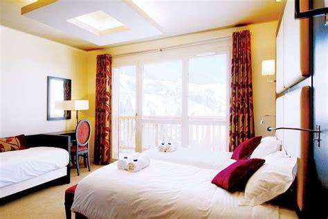 ski holidays at chalet hotel des deux domaines plagne