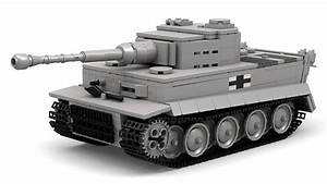 Lego Wwii German Tiger I  Updated  Instructions With Parts