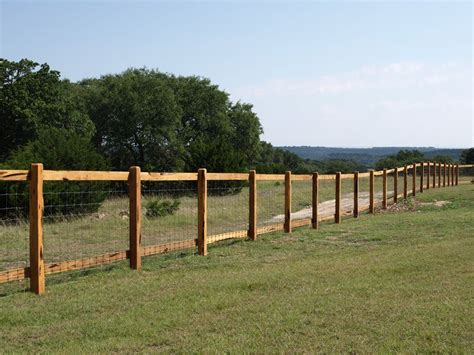 Boerne Wooden Rail Fences