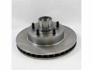 Front Brake Rotor And Hub Assembly For 93