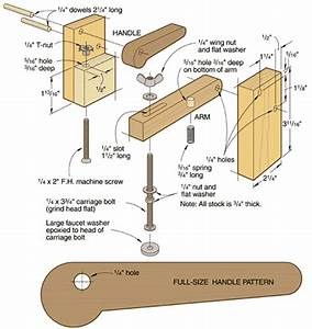 free homemade woodworking tools » plansdownload