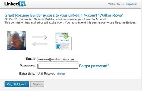 Create Resume Linkedin by How To Create A Resume From Linkedin