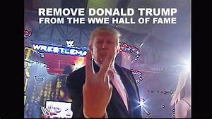 Petition · Remove Donald Trump from the WWE Hall of Fame ...