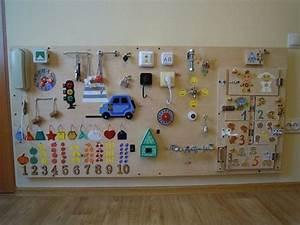 Montessori Spielzeug Baby : gebucht board 35 elemente activity board sensorische board montessori p dagogisches ~ Orissabook.com Haus und Dekorationen