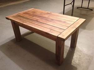 ana white tryde coffee table diy projects With 2 by 4 coffee table