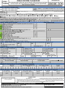 Income tax return forms for FY 2017-18 released – lampsricweb