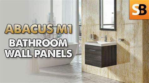 abacus  pvc waterproof bathroom wall panels youtube