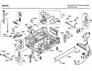 Bosch Shp65t55uc  09 Dishwasher Parts