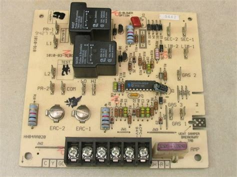 Hh84aa020 Circuit Board Wiring Diagram by Carrier Bryant Hh84aa020 Hvac Furnace Circuit