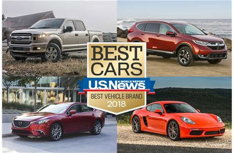 2018 Best Vehicle Brand Awards  Us News & World Report