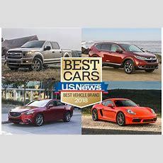 2018 Best Vehicle Brand Awards  Us News & World Report
