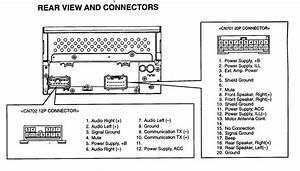 Matsushita Car Stereo Wiring Diagram