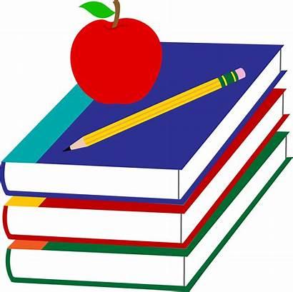 Teacher Clip Apple Books Clipartpanda Pencil Animated