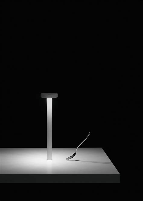 tetatet rechargeable lamp designed  davide groppi
