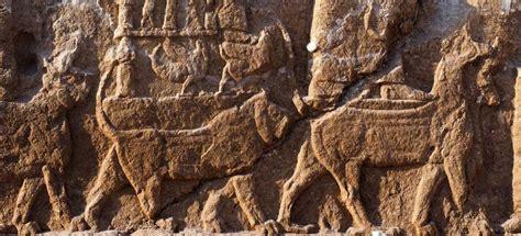 historiagames actualite des bas reliefs assyriens