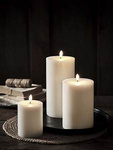 Exquisite, White, Led, Candles