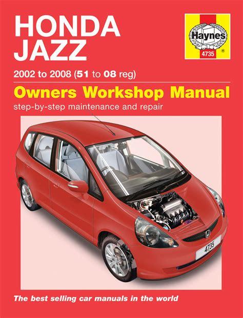 old cars and repair manuals free 2011 honda cr z engine control honda jazz 02 08 haynes repair manual haynes publishing