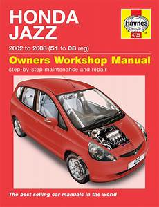 Haynes Manual Honda Jazz  2002 - 2008  51